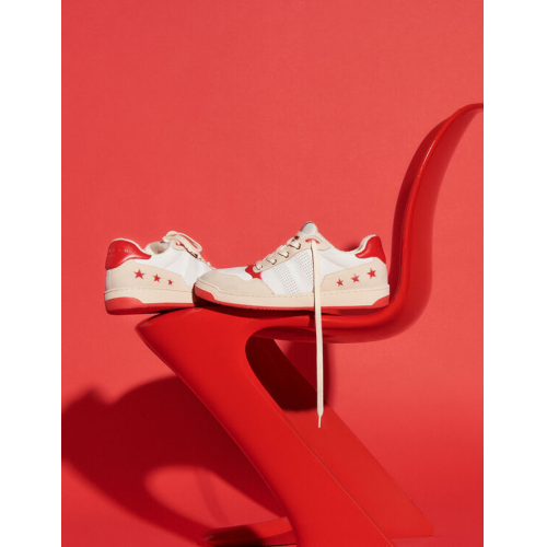 산드로 레트로 스타일 스니커즈 Sandro Retro style sneakers,Red