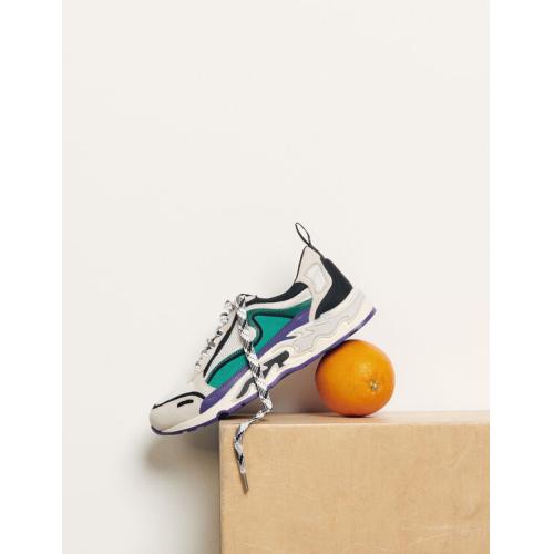 산드로 플레임 불꽃 스니커즈 퍼플 Sandro Flame sneakers,Purple
