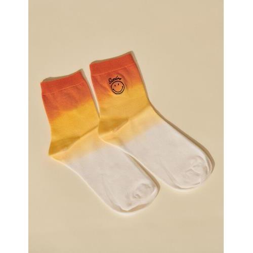 산드로 타이다이 양말 Sandro Smiley Tie-dye socks